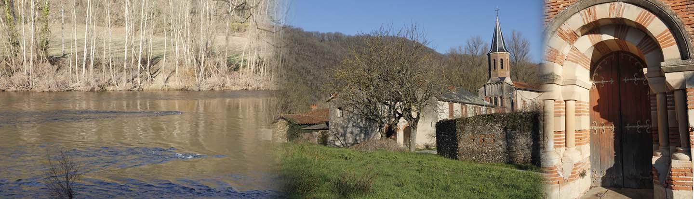 Un pied dans la vallée du Tarn