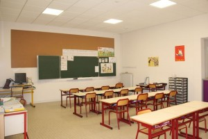Ecole Villefranche Salle de Classe
