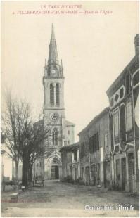 église extérieur carte postale