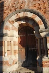 église Fabas Portail