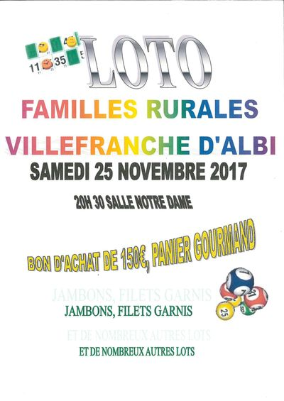 LOTO Association Familles Rurales