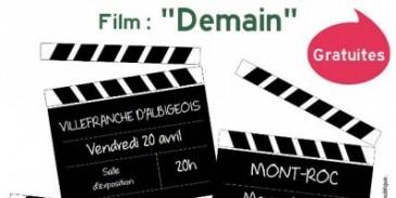 """Espace de Vie Sociale (EVS) : projection du film """"Demain"""""""