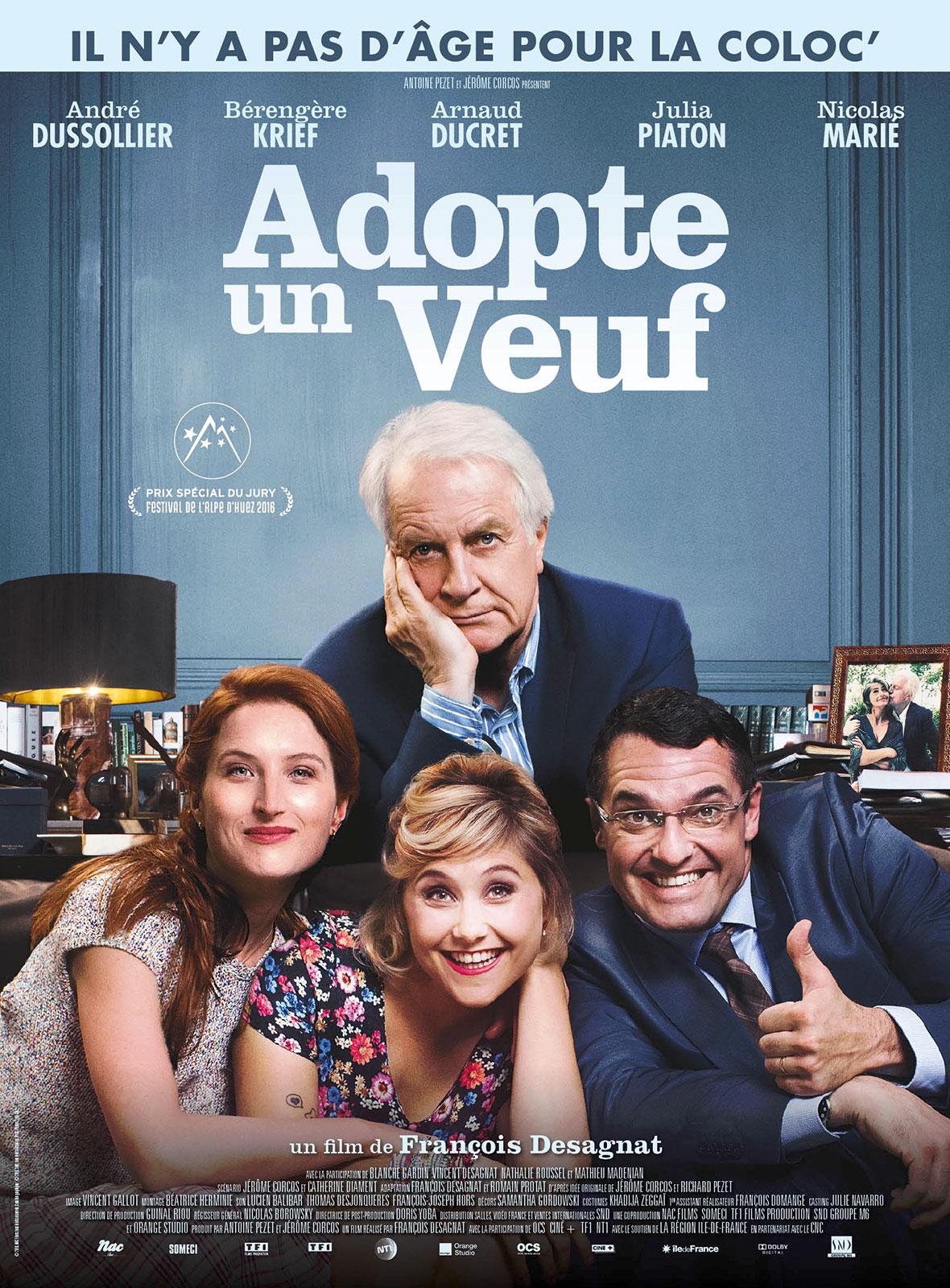 """Séance de cinéma gratuite et en plein air """"Adopter un veuf"""""""