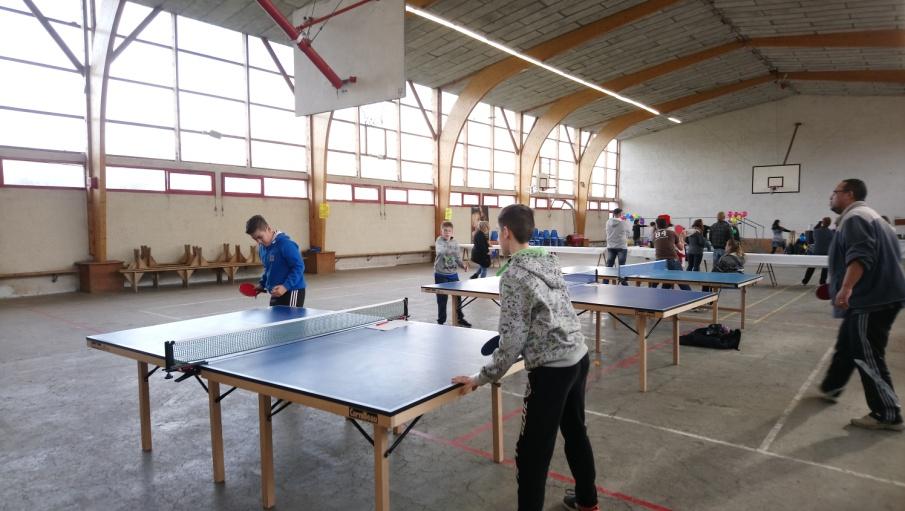 Activité TENNIS DE TABLE à la rentrée 2018 à Villefranche