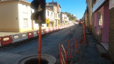 TRAVAUX CENTRE BOURG : MODIFICATION TEMPORAIRE DE CIRCULATION