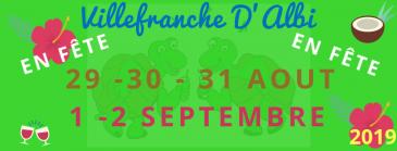 Fêtes générales de Villefranche 2019