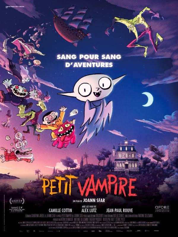 """SEANCE CINECRAN 81 -""""PETIT VAMPIRE"""" -Mardi 29 juin à 17h30"""