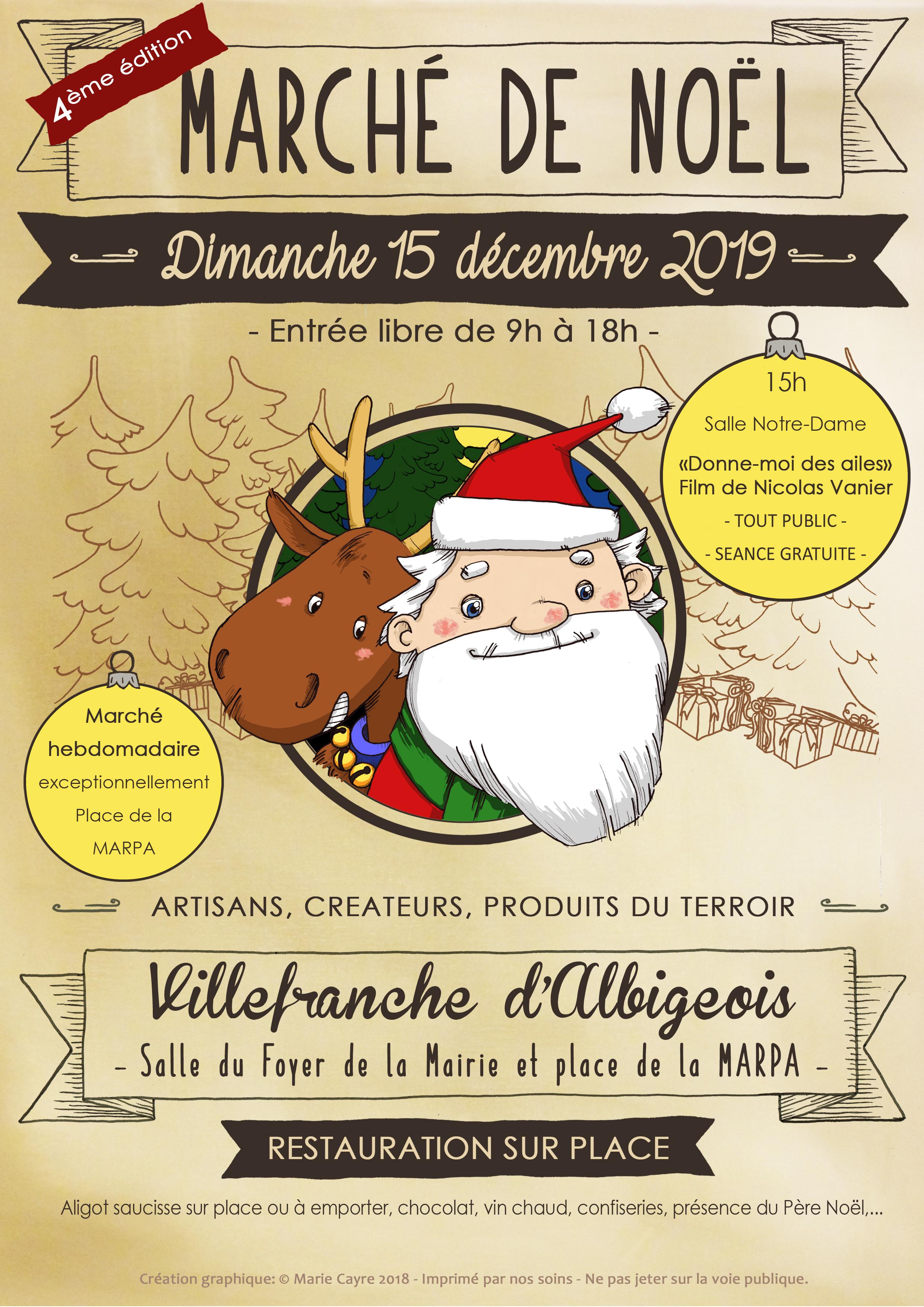 4ème édition du Marché de Noël des créateurs, artisans et producteurs