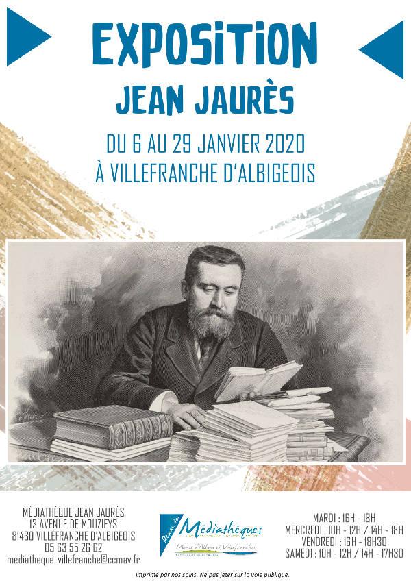 Exposition sur Jean Jaurès du 6 au 29 janvier 2020
