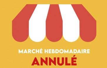 MARCHE DOMINICAL DE VILLEFRANCHE ANNULE