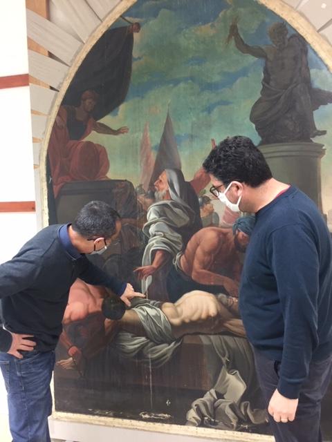 Le Martyr de Saint Barthélémy - Eglise de Fabas