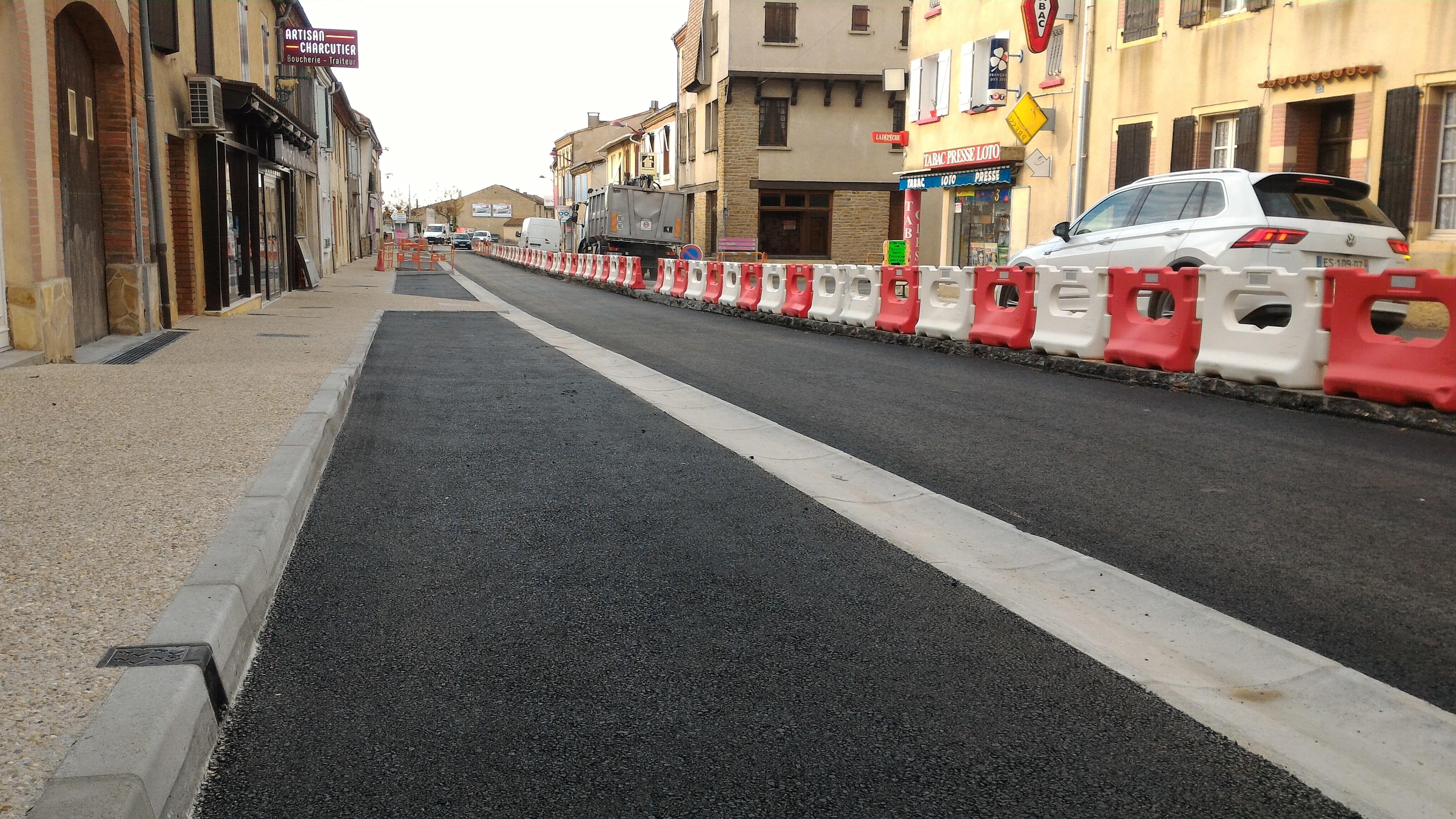 Le basculement de la circulation sur l'autre demi-chaussée a été réalisé en fin de semaine