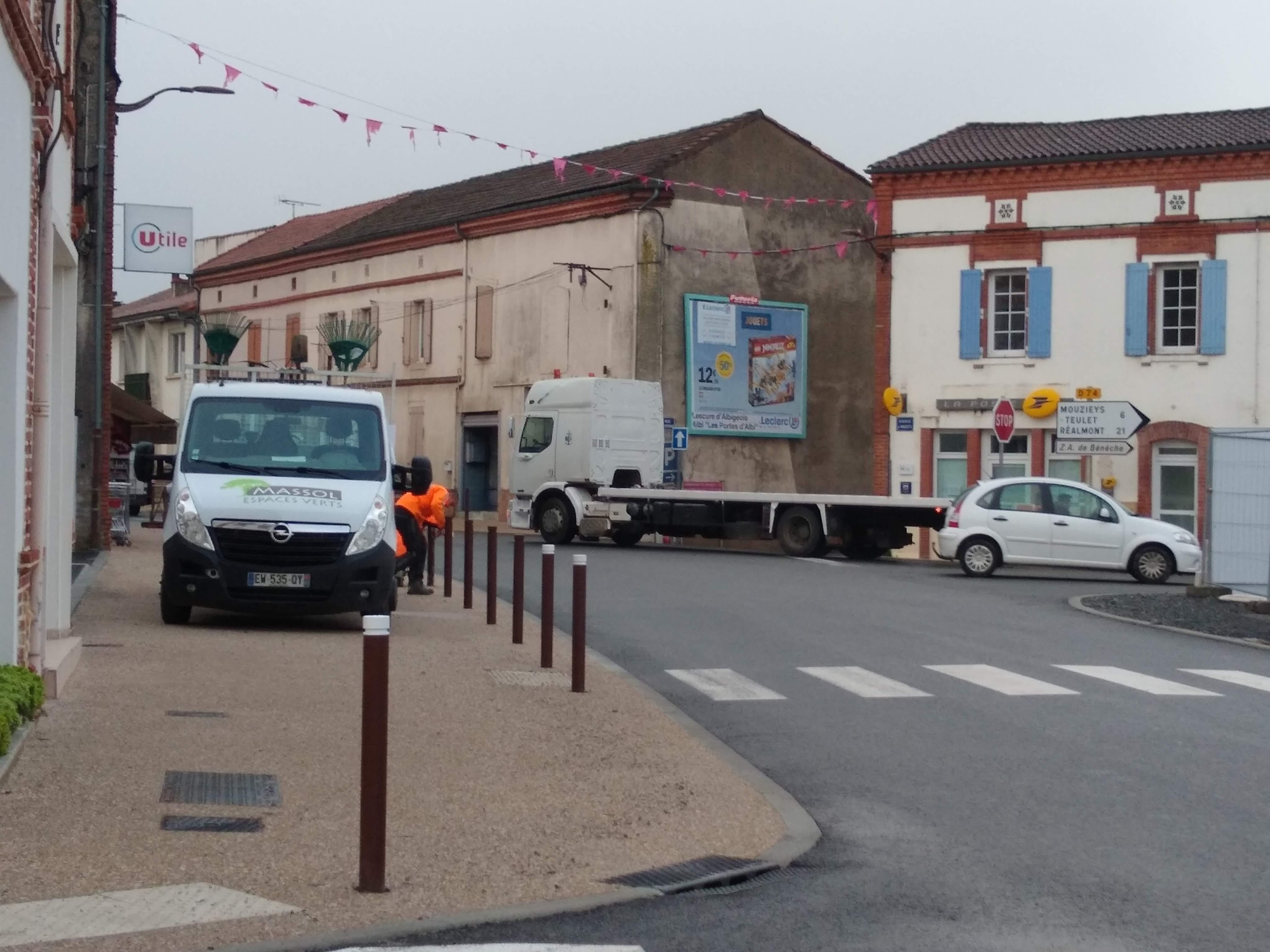 Chantier centre bourg novembre 2019 photo 1