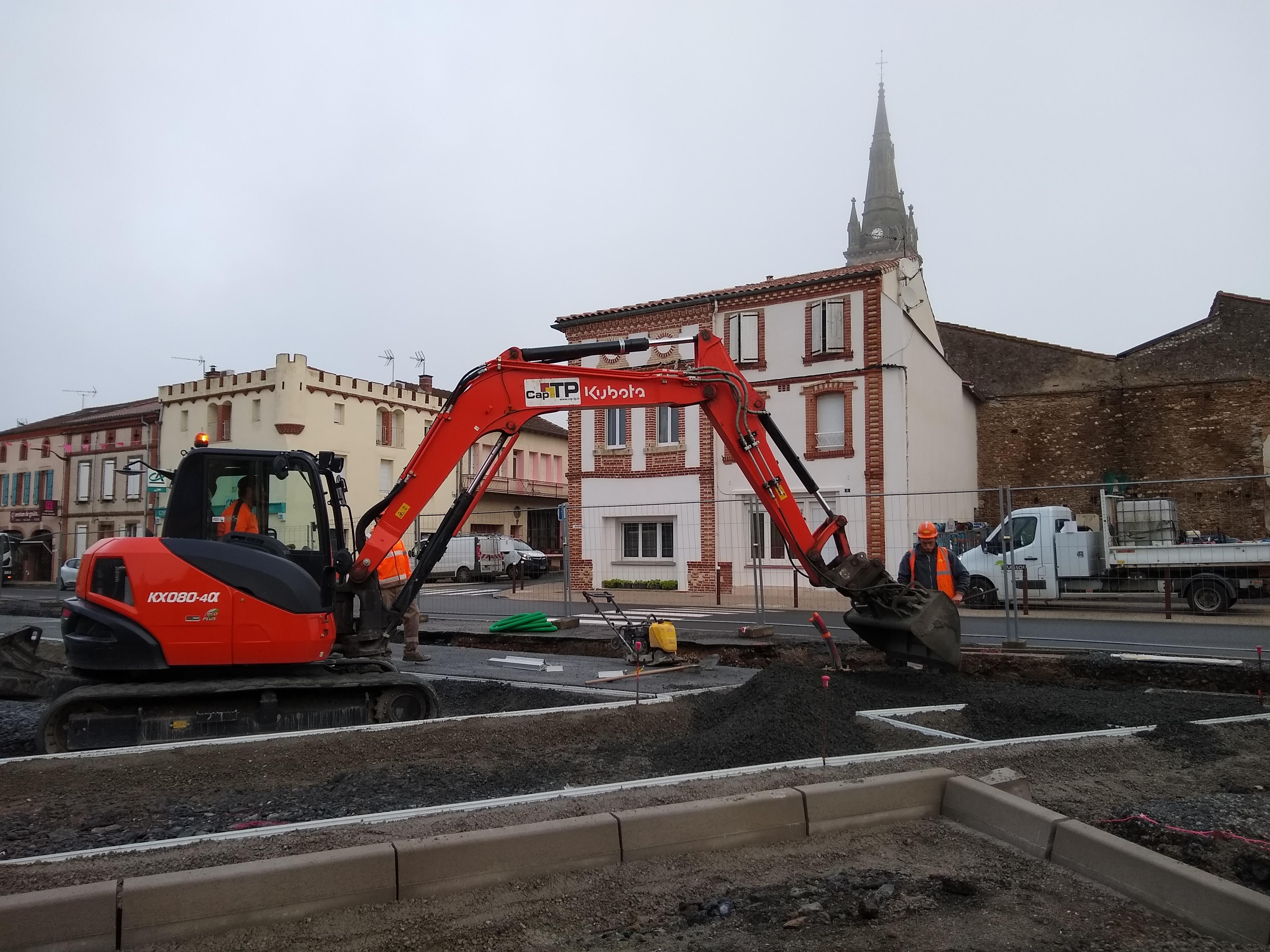 Chantier centre bourg novembre 2019 photo 3