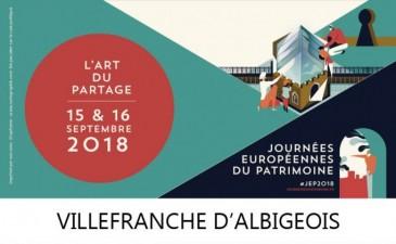 Journées du patrimoine 2018 à Villefranche