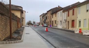 Chantier d'aménagement du centre bourg
