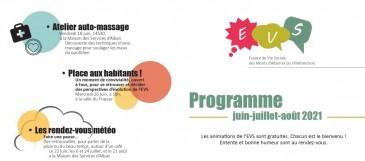 Programme EVS - Eté 2021
